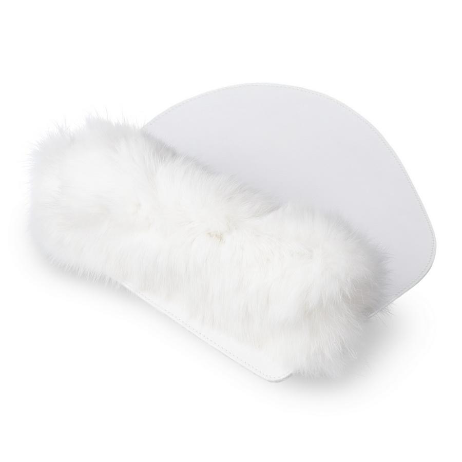 1c62620e6 Kožená podložka pod myš MARIMA - biela - kožené výrobky