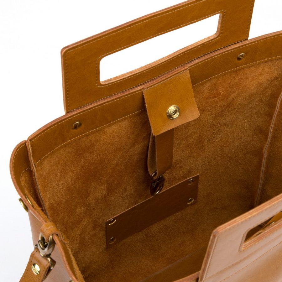 Dámska kabelka MARATHON z pravej kože - hnedá - kožené výrobky 7578514e1ed