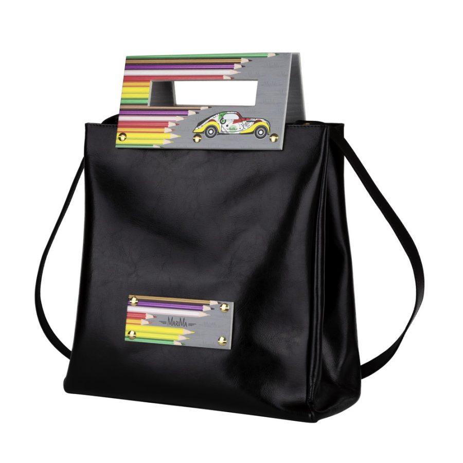 Dámska kabelka MARATHON II z pravej kože - čierna - kožené výrobky 93504ef1274