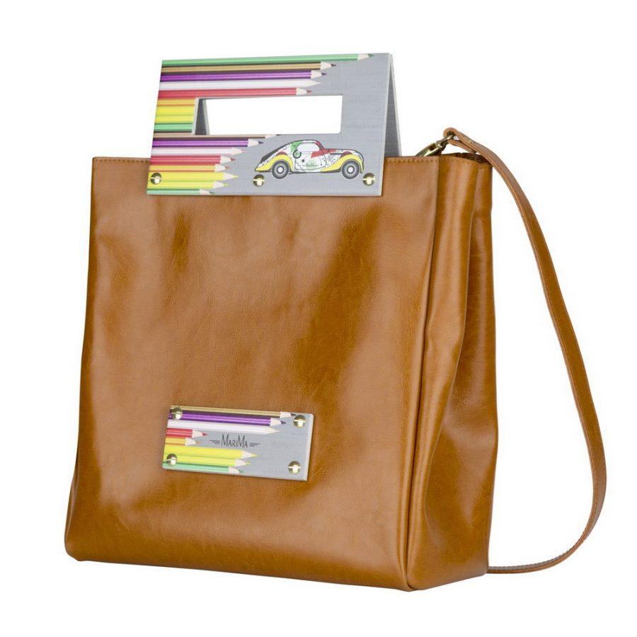 924ea2a3e90e Dámska kabelka MARATHON II z pravej kože - hnedá - kožené výrobky