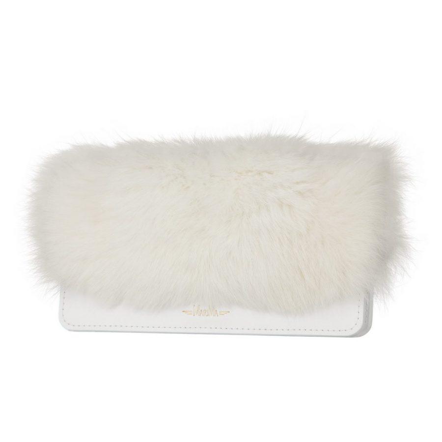 6ea6a3fed69ef Dámska peňaženka MARIMA z pravej kože a kožušiny - kožené výrobky
